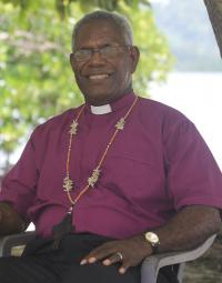 ARCHBISHOP OF THE ANGLICAN CHURCH OF MELANESIA RETIRES