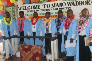 Mano Wadrokal marks First Diploma graduation ceremony.