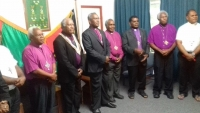 ACoM Bishops attend Bishops' School
