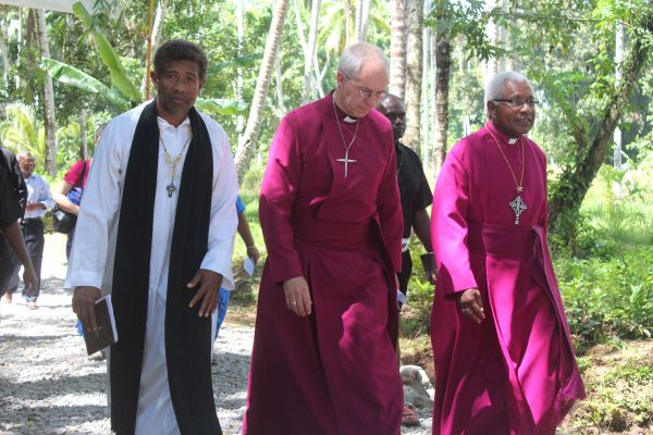 Archbishop Welby in Melanesia