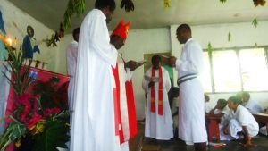 Br. Obed Installed to Lead MBH Vanuatu