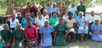 Participants at the Trauma and Counseling training held at CCC, Tenaru area, east of Honiara.
