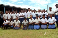 1st Form four students at Norman Palmer School